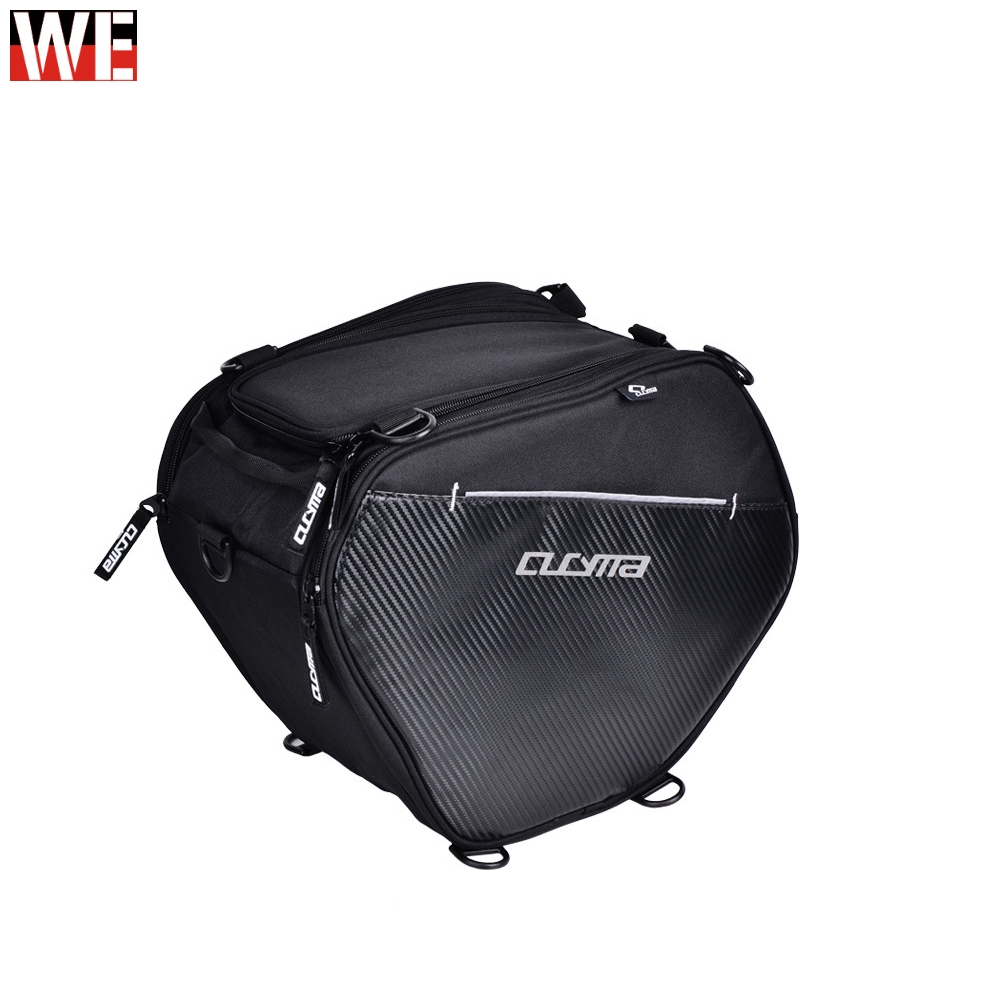 CUCYMA Motorcycles Front Storage Bags 20-35L Motorbike Racing Travel with Shoulder Strap Scooter Tunnel Bag