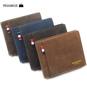 PHAMOZ Luxury Purse Thin Short