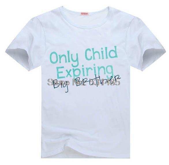 pregnancy announcement only child expiring tee t shirt for kid boy