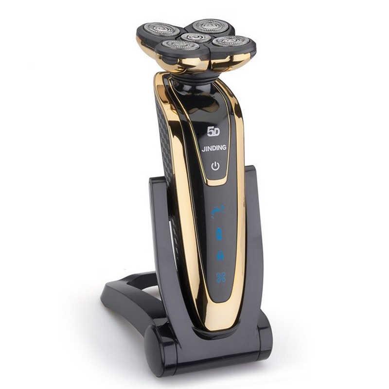 2017 hotsales nowy przenośny golarka elektryczna do mycia ciała 5 d elektryczna maszynka do golenia mężczyzna broda maszynka do golenia ładowania mężczyźni pisarzy wody wysokiej jakości