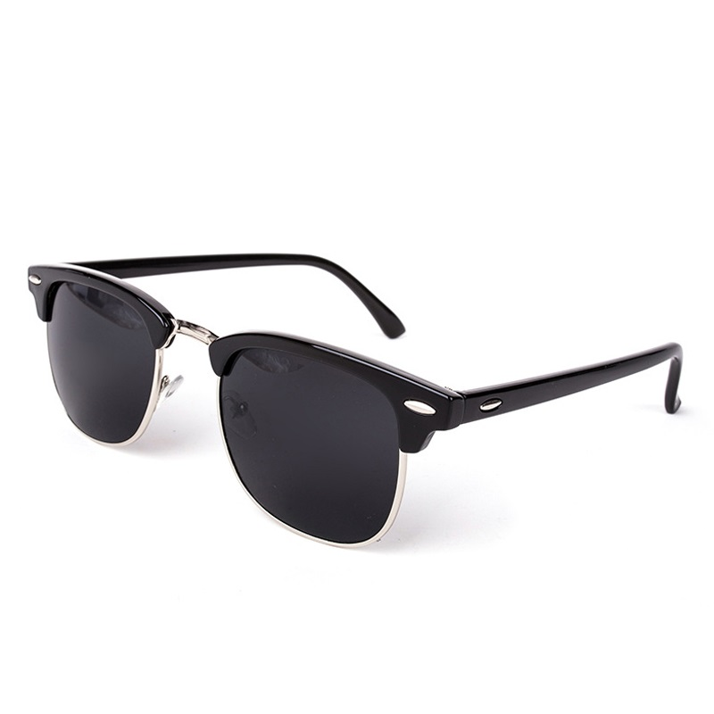New Arrival Vintage Rivets Sunglasses Women Sunmmer Goggle Glasses Men Outdoor Gafas de sol Black Retro Oculos De Sol Feminino
