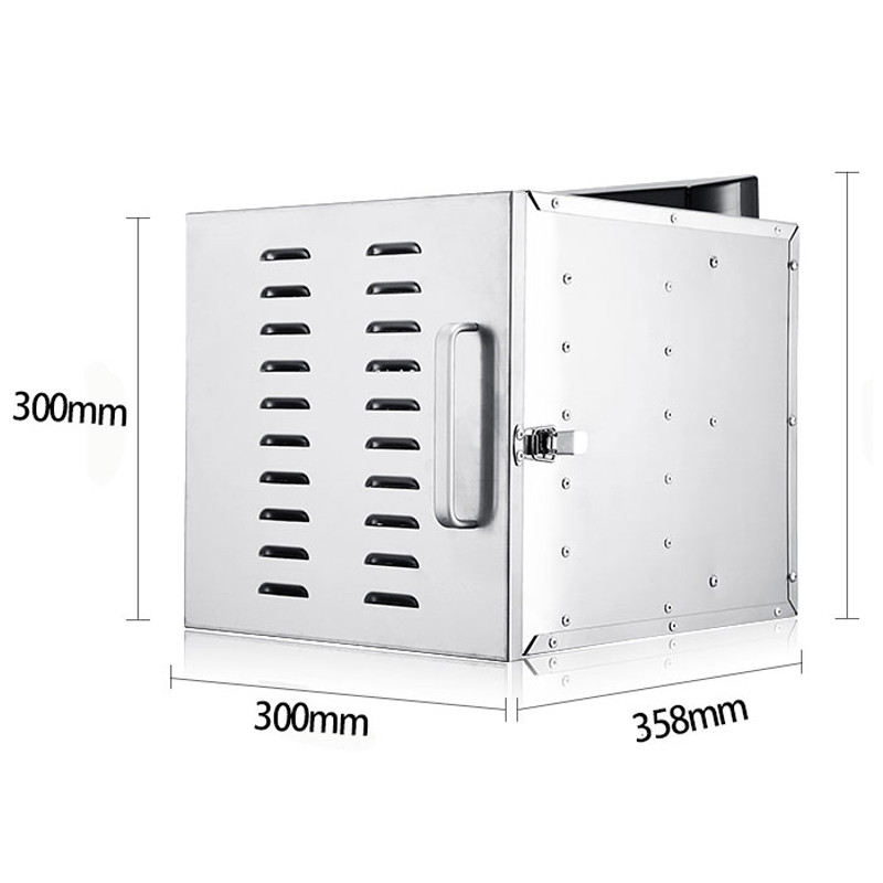 Temperature time control Stainless Steel fruit dehydrator machine dryer for fruits and vegetables food processor drying fish (4)