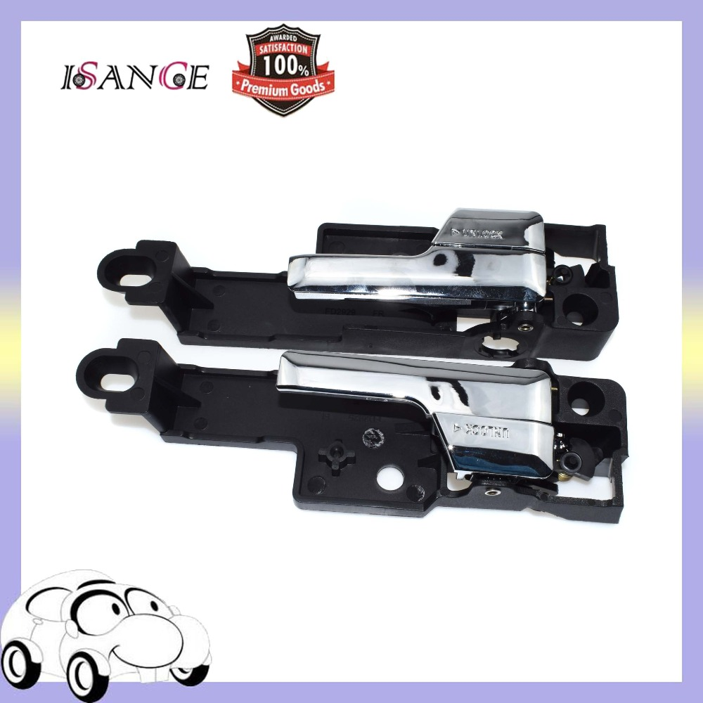 Isance Inside Door Handle Front Right Left Pair For