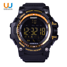 Uwatch Sports Smart Watch Waterproof Smart Fitness Tracker Reminder For Android IOS Phone Wristwatch Wearable Device