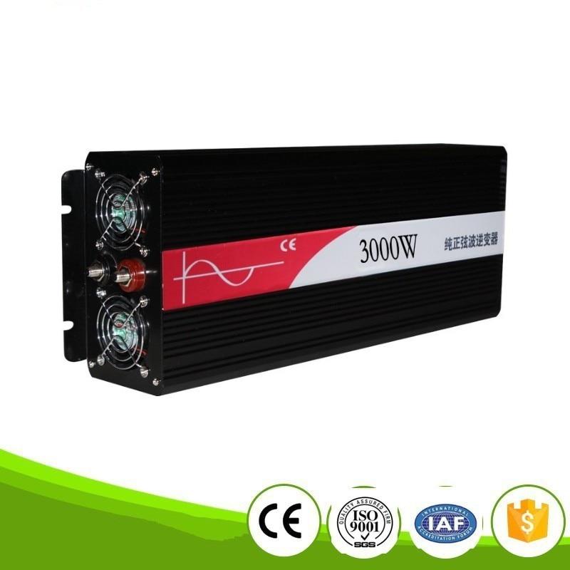 цена на DHL FedEx Free Shipping off grid inverter 3000w pure inverter pure sine wave inverter 3KW 3000w inversor puro