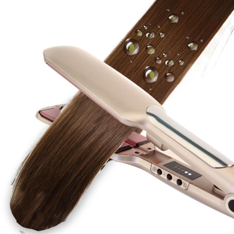 Инфракрасный прямой выпрямитель для волос керамический турмалин выпрямление плоского утюга Уход за волосами инструмент для укладки быстр