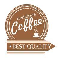 커피 숍 벽 데칼 맛있는 커피 로고 벽화 예술 벽 스티커 커피 컵 스티커 카페 바 창 유리