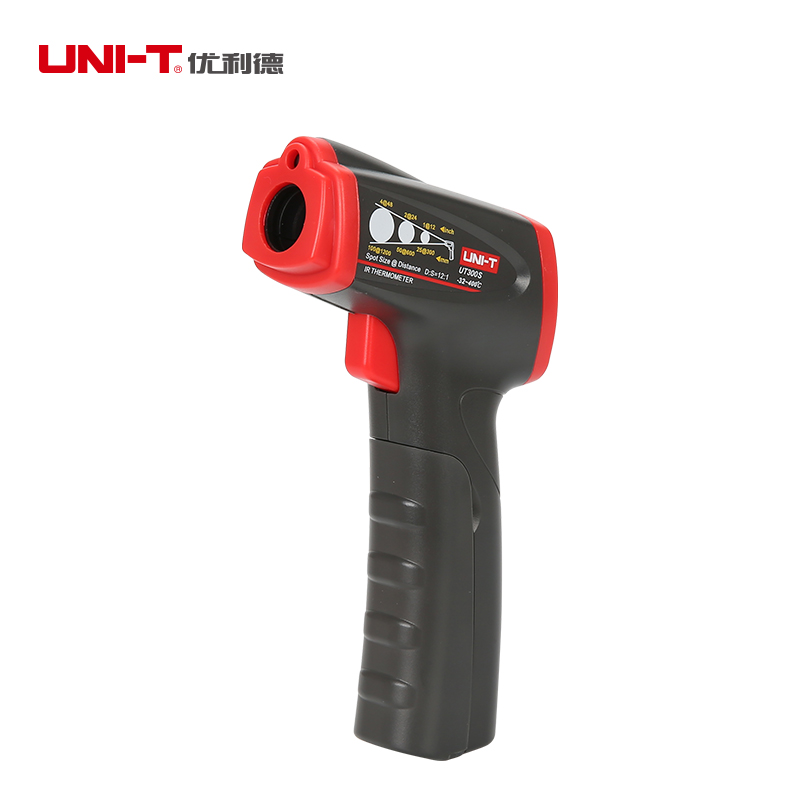 UNI-T UT300S Non-contact IR Digital Infrared Thermometers Handheld LCD Temperature Gun LCD Backlight