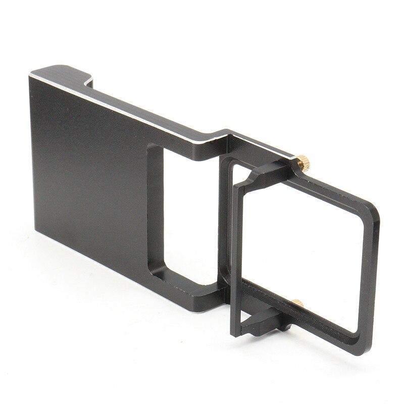 Алюминиевый Сплав Черный Аксессуары Адаптер Для Gopro Hero 5 4 3 3 Для DJI Осмо Zhiyun Z1 Gimbal Камеры