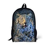 17 Inch Student Bag Laptop Backpack School Bag Prairie Beast Dinosaur Pattern Large Capacity Multifunctional Trend