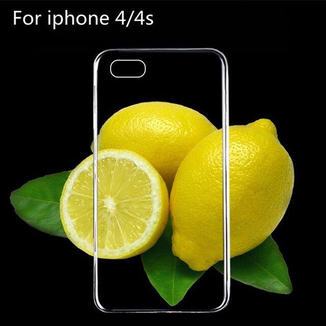 Ультра Тонкий Прозрачный Мягкие TPU Case Cover Для iphone 4 4S 5 5S 6 6 плюс 7 7 плюс case 100% Прозрачный Восстановить истинный цвет машины