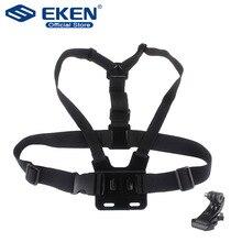 Shoulder Chest Belt Strap Mount For Go pro Accessories SJ4000 Accessories Go pro Hero HD Hero 1 2 3 3+ 4 Outdoor Action Camera