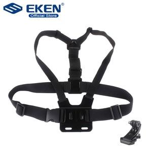 Image 1 - Shoulder Chest Belt Strap Mount For Go pro Accessories SJ4000 Accessories Go pro Hero HD Hero 1 2 3 3+ 4 Outdoor Action Camera