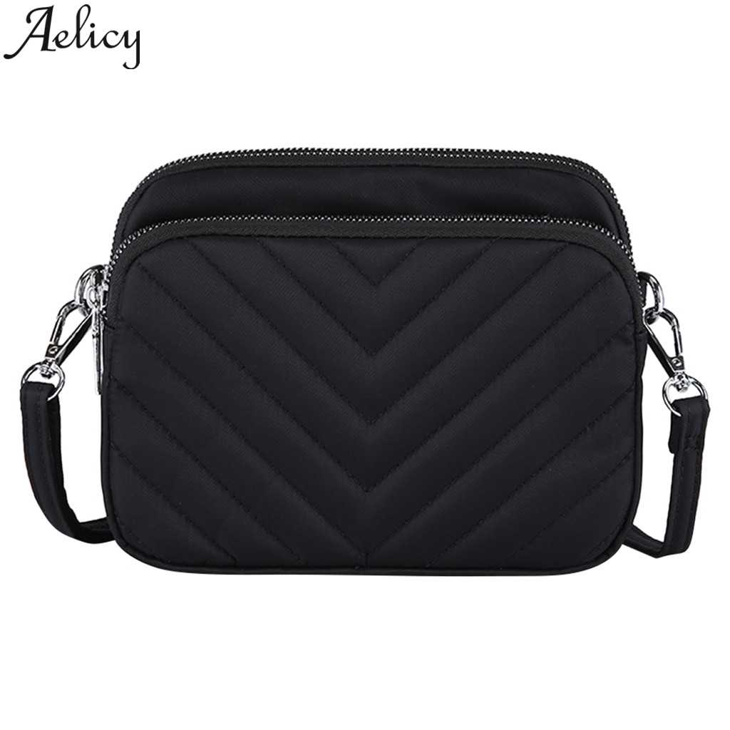 Aelicy Fashion high quality Fashion Nylon Ladies Shoulder Bags Clutch Bag For Women Messenger Bags Crossbody Shoulder Handbag
