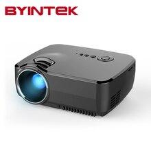 BYINTEK GP70 2016 AM01 Nuevo HD LED HDMI USB Vídeo Digital de Cine En casa Portátil HDMI USB LCD Película Pico DLP LED Mini proyector