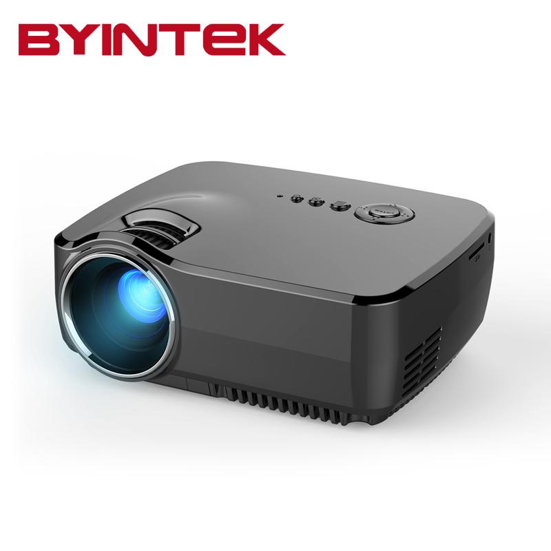 Prix pour BYINTEK GP70 2017 AM01 Nouveau HD LED HDMI USB Vidéo Numérique Home Cinéma Portable HDMI USB LCD DLP Film Pico LED Mini projecteur