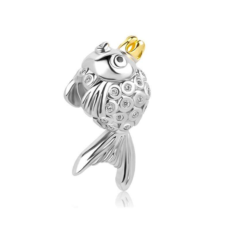 2018 Новая бесплатная доставка 1 шт. серебряный единорог лягушка ant чайник семьи дракон diy шарик Подходит европейский Pandora Браслеты mix061