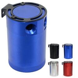 Wysokiej jakości wyścigi przegrodami 3-portowy złap olej może/zbiornik/Separator oleju powietrza czarny