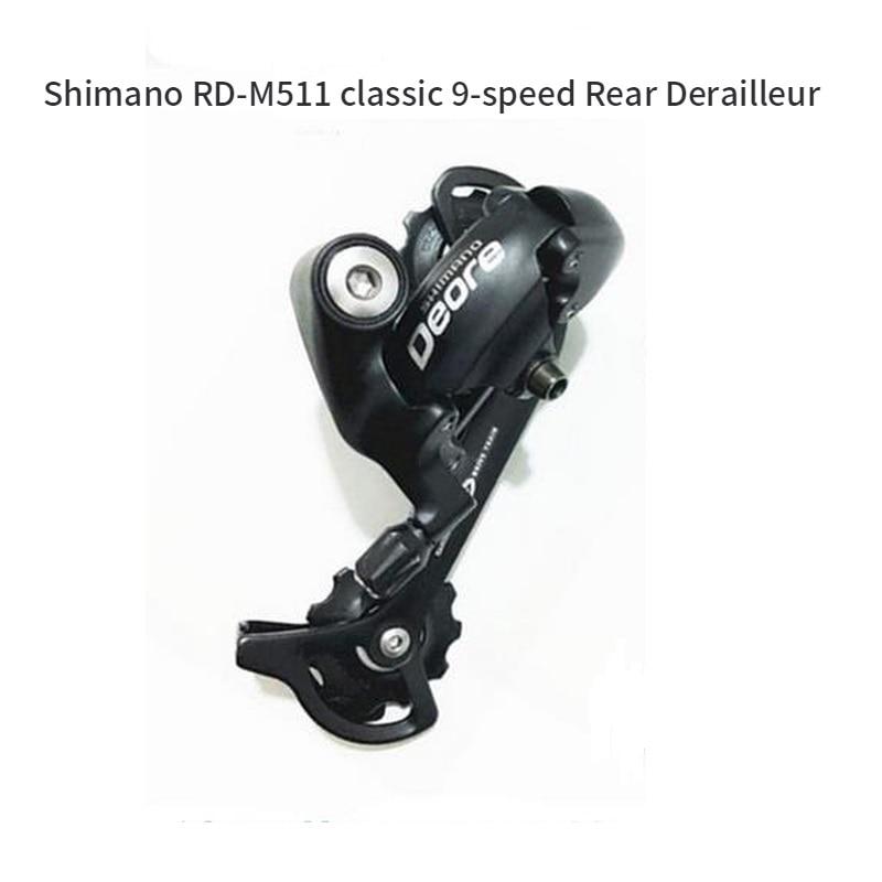 Shimano Deore RD M511 9 Speed Rear Derailleur SGS