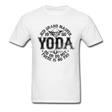 Star War Tops & Tees Grand Master Yoda Normal T-shirts for Men Pure Cotton ostern Day T Shirt Oversized Crewneck  Free