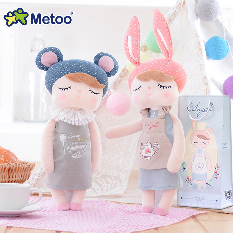 13 Inch Metoo Doll Angela Teapot Sleep Retro Rabbit Plush dolls Stuffed Kids Toys for Girls Children Birthday Christmas Gift 13 inch baby toys for girls kids toys stuffed