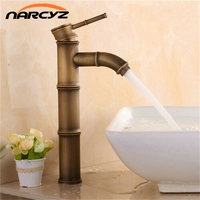 Old ancient brass bamboo bathroom tap XR GZ 8024