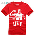 2016 Summer Style Lebron James Men Tee Shirt Homme Commemorative Man T-Shirt Short Sleeve Cotton Mens Tshirt A1358