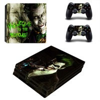 Newly Arrival For Playstation 4 PS4 PRO Console Game Decal Skin Stickers 2 Pcs Stickers For