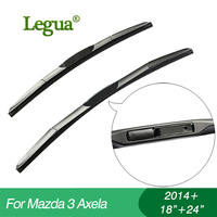 1 Set Wiper Blades For Mazda 3 Axela 2014 18 24 Car Wiper 3 Section Rubber