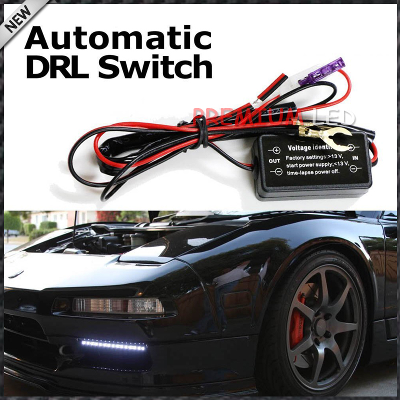 1  Led Daytime Running Light Automatic On  Off Switch