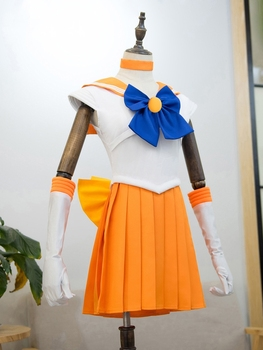 2020 New Japanese Anime Sailor Moon Cosplay Costume Sailor Moon Carnaval/Halloween Costumes for Women/Kids Custom Any Size 2