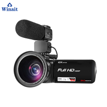 High Quality Portable Digital Video Camera HDV-Z80 10X Optical Zoom USB2.0/TV OUT/HDMI Output Built In Microphone Pro Camcorder