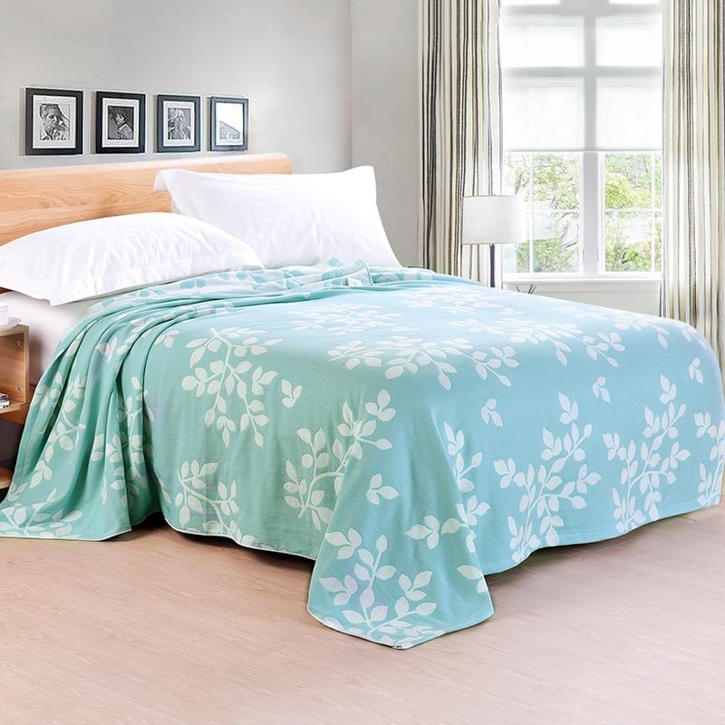 купить 2017 New Cotton Blanket 180X200cm -1PC 100% Cotton Blanket on Bed Jacquard Throw Blanket Air-Condition Blanket дешево