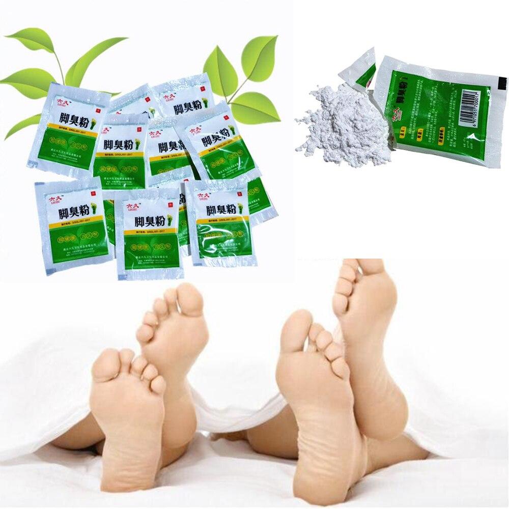 10Bags  Fungal Infections Foot Bath Powder Feet Care Athlete's Foot, Foot Odor, Sweat, Itching, Peeling, Beriberi D211