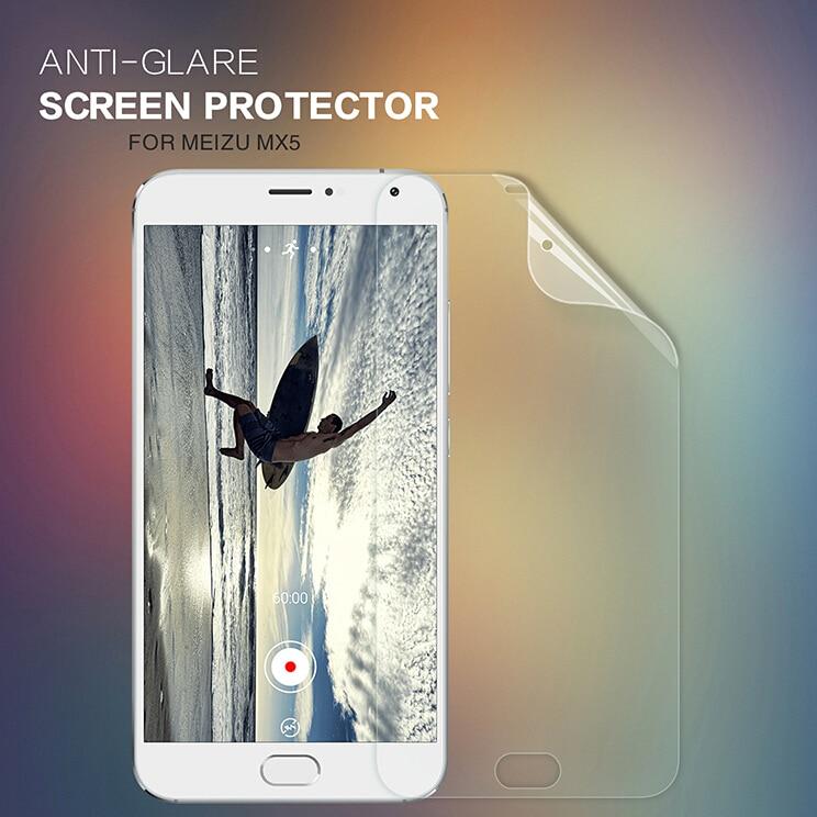 Nillkin Scrub front +camera film for Meizu MX5 screen protector for MX5 protective screen film