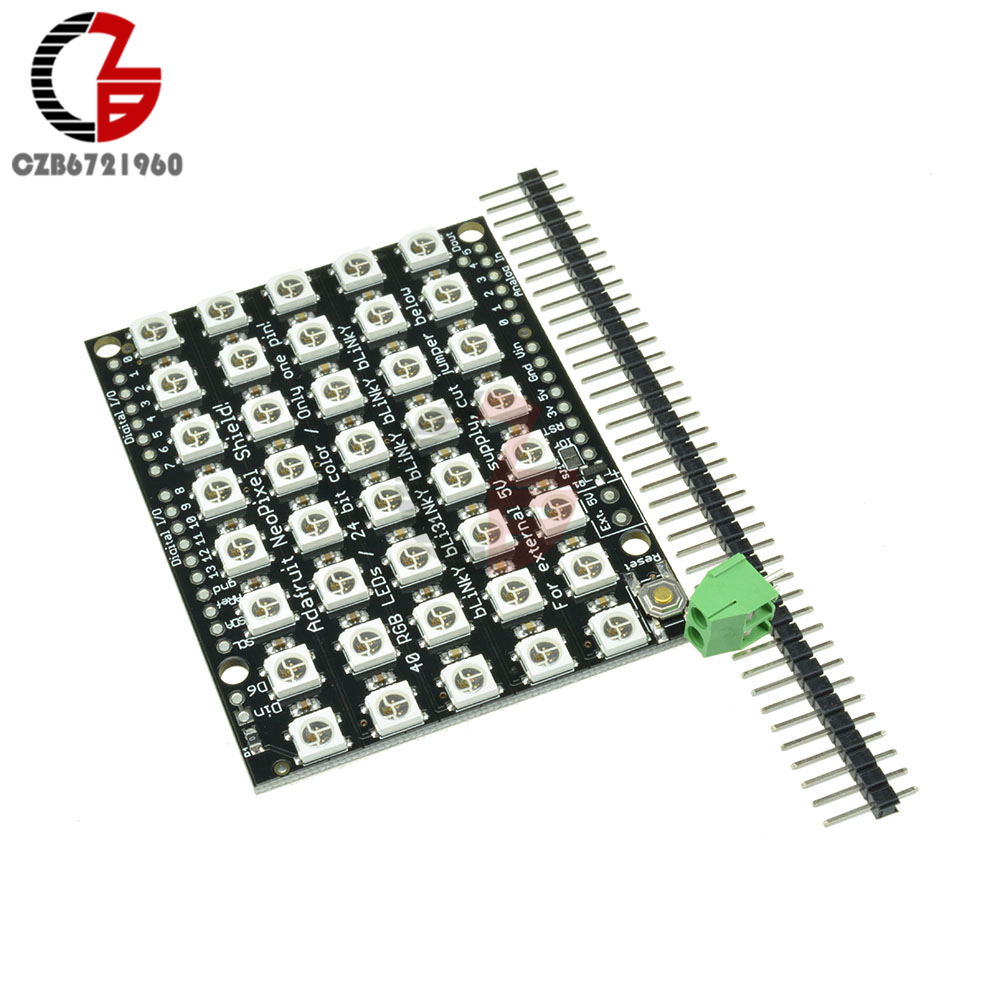 Worldwide delivery rgb led matrix arduino in Adapter Of NaBaRa