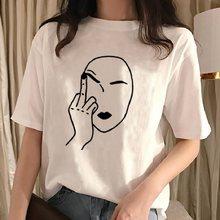 Mode Vogue Damen Kurzarm Basic Tee Shirt Sommer Casual Tops feminina Hipster tumblr harajuku marke Bluse dames kleding(China)