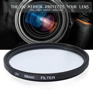 Image 3 - Набор профессиональных объективов и фильтров Andoer, компактные Аксессуары для фотоаппаратов 52 мм 58 мм
