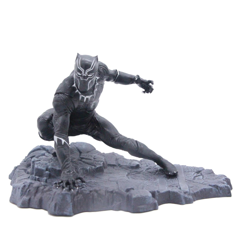 Marvel Avengers Infinity War Black Panther Super Hero Action Figure Model Toy 14*20cm super hero ant man black panther movable action