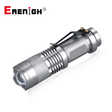 Mini LED Flashlights 300LM Q5 LED Flashlight Torch AA 14500 Adjustable
