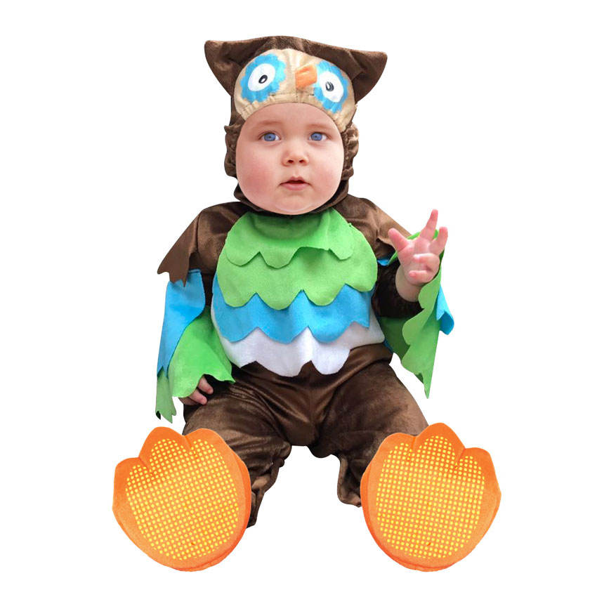 Umorden Carnival Halloween Costumes Toddler Infant Baby Animal Owl Costume Cosplay for Baby Girl Boy Fancy Dress Jumpsuit