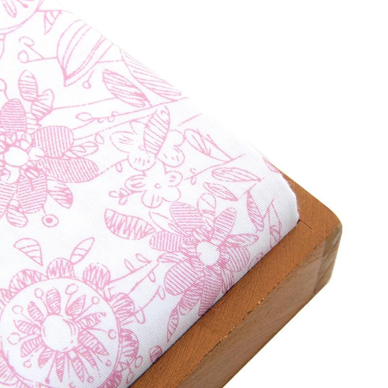 ᗐ50x160 cm patrón remiendo de la tela de algodón tela suave ...