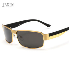 JAXIN Fashion rectangular Sunglasses Men personality trend polarized Sun Glasses men outdoor travel goggles UV400 oculos gafas