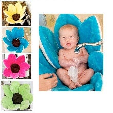 מודרניסטית פורח אמבטיה לתינוק אמבטיה , פורח אמבט לתינוקות כרית פרח תינוק כחול MG-13