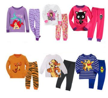 Children's Clothing Set Pajamas Sets Kids Girls Tshirt Pants Newborn Baby Boys Clothes Set Cotton children Boy Suits Outfit year cotton long sleeves baby kids children suits boys pajamas christmas girls clothing sets clothes