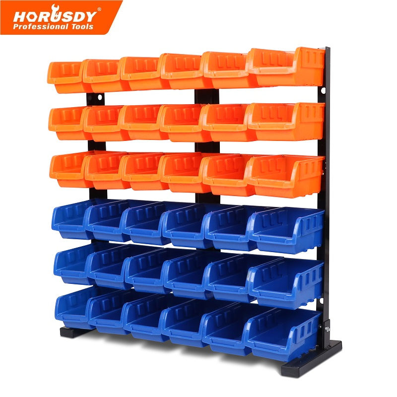 garage storage bins 36 pcs bin storage rack shelving garage storage rack tool 15732
