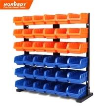 цена на 36 Pcs Bin Storage Rack Shelving Garage Storage Rack Tool Organiser Box Workshop