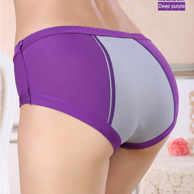 Women Physiological Leakproof Brief Menstrual Period Underwear Lady Girl Cotton   Panties   FDC99