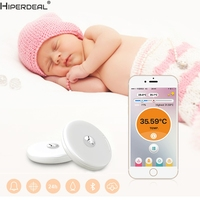 HIPERDEAL Smart House Baby Thermometer Monitor Intelligent Wearable Safe Thermometer Bluetooth 4 0 Smart Baby Monitor