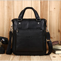 Free Shipping New BOSTANTEN Men's 100% Genuine Leather Real Cowhide Handbag Messenger Shoulder Tote Briefcase Hand Bag Purse